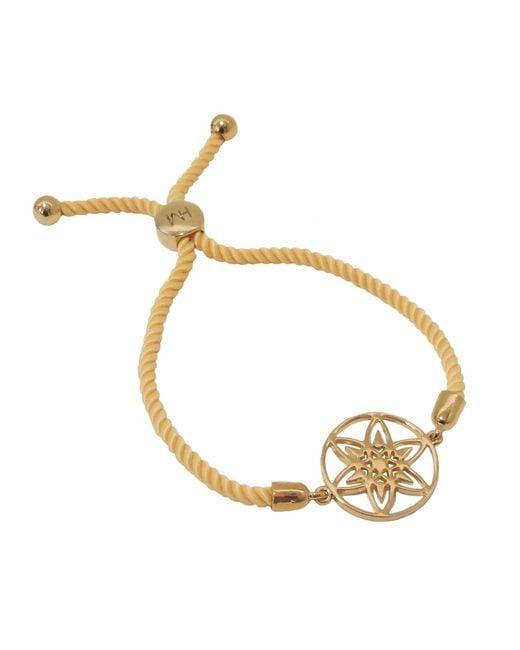 Hoochie Mama | Metallic Daffodil Medallion Friendship Bracelet | Lyst