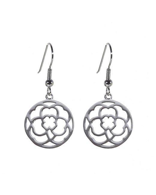 Hoochie Mama | Metallic Clover Medallion Earrings | Lyst