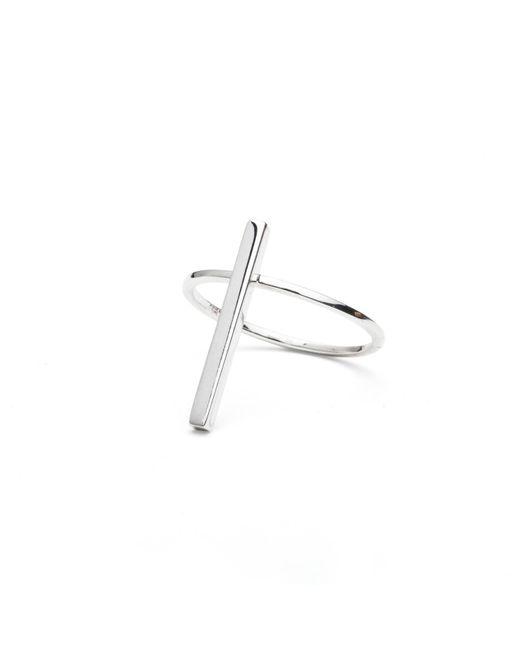 Isabel Lennse - Metallic Rod Ring - Lyst