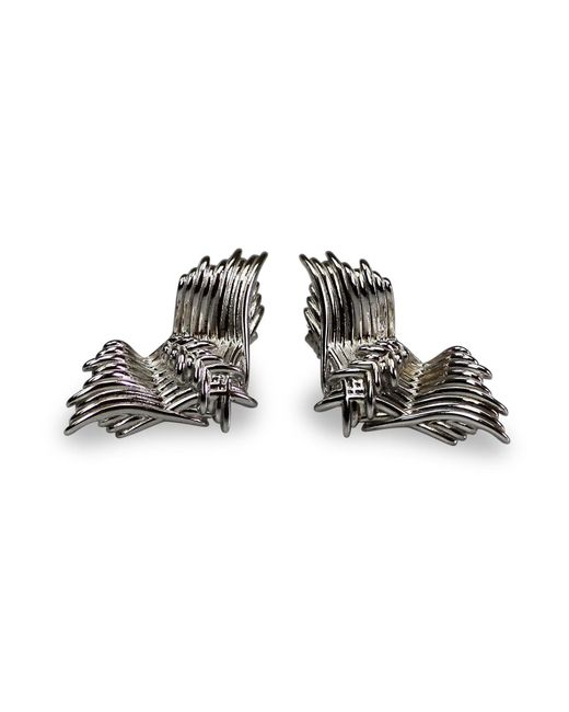 Bellus Domina | Metallic Angel Wing Stud Earrings | Lyst