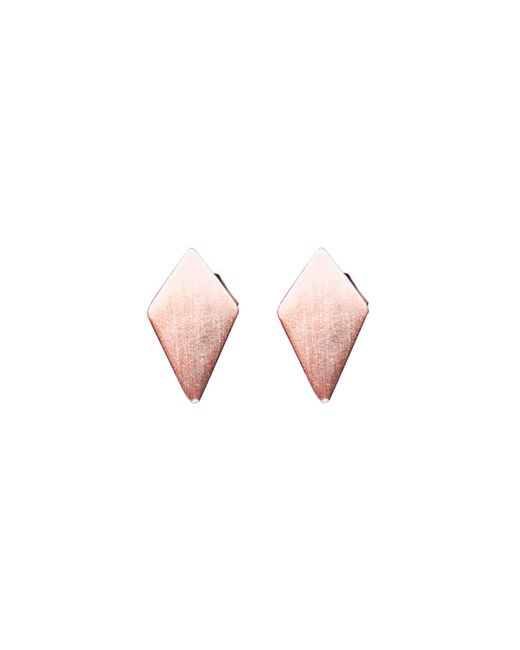 Dutch Basics | Pink Ruit Stud Earrings | Lyst
