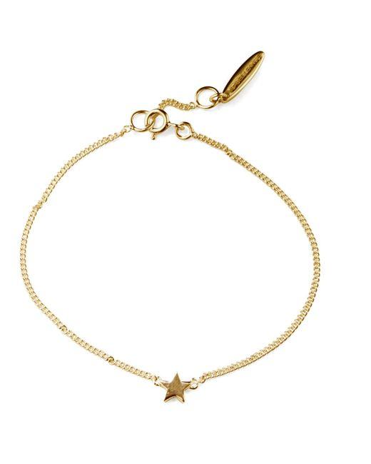 Isabel Lennse - Metallic Mini Star Gold Bracelet - Lyst