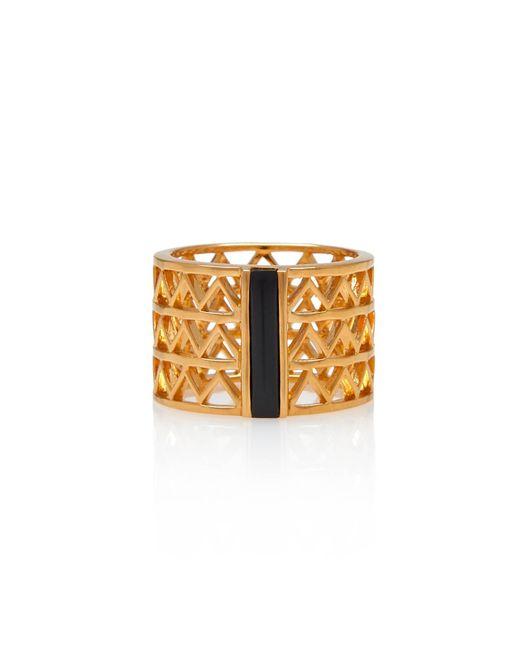 Alexandra Alberta - Metallic Guggenheim Onyx Ring - Lyst