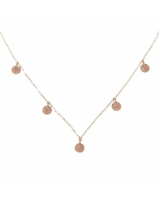 Ri Noor - Metallic Five Disc Necklace - Lyst