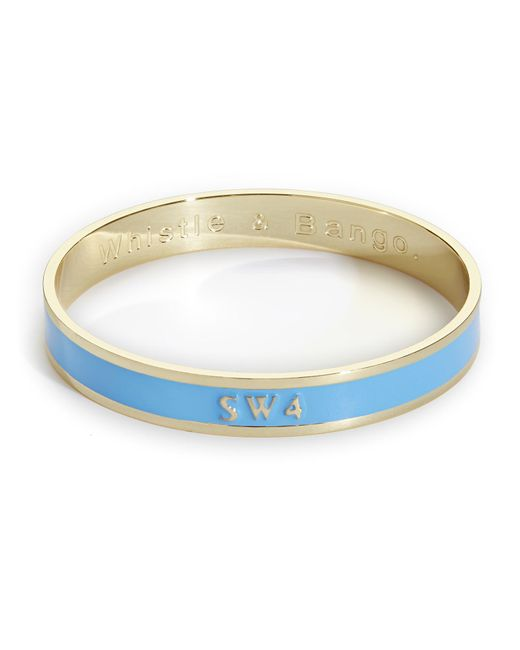 Whistle & Bango - Blue Sw4 Bangle - Lyst