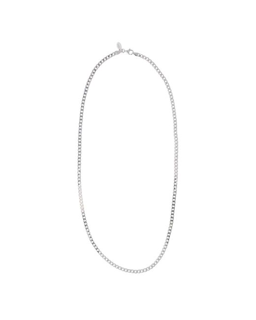 Edge Only - Metallic Heavy Curb Chain Mens Silver for Men - Lyst