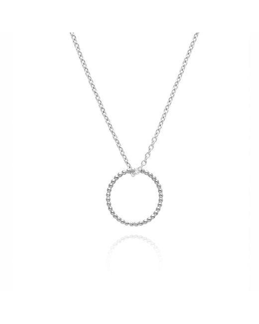 Myia Bonner   Metallic Silver Circle Ball Necklace   Lyst
