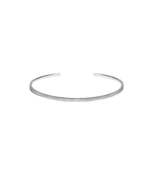 Isabel Lennse - Metallic 2 X 2 Lined Cuff - Lyst