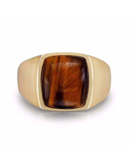 LMJ - Multicolor Chatoyant Yellow Tiger Eye Ring - Lyst