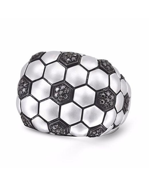 LMJ - Metallic Kick & Goal Soccer Head Ring for Men - Lyst