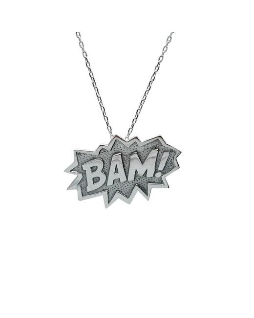 Edge Only - Metallic Bam Pendant Extra Large In Silver - Lyst