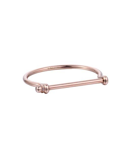 Opes Robur - Metallic All Rose Gold Bracelet - Lyst