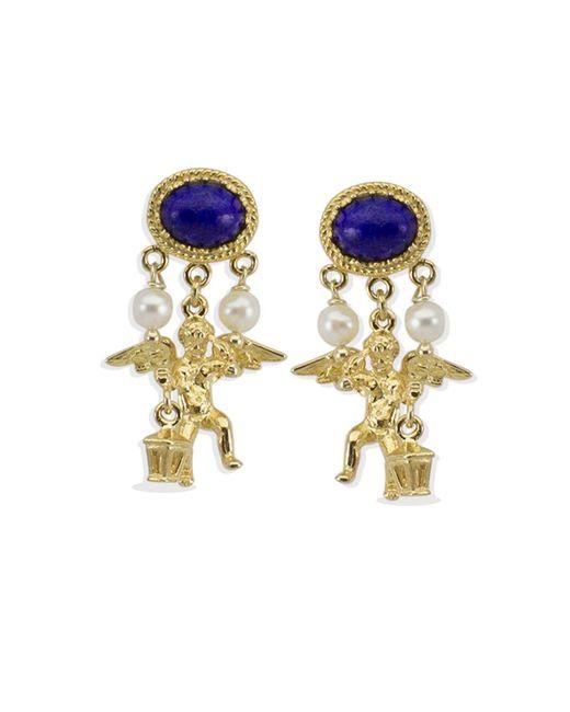 Vintouch Italy - Metallic Puttino Earrings - Lyst