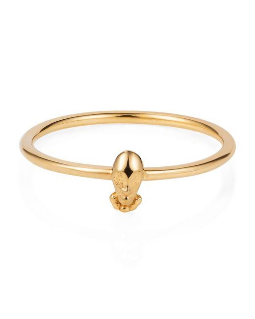 Lee Renee | Metallic Tiny Voodoo Orunla Ring – Gold Vermeil | Lyst