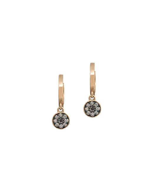 Jezebel London 14kt Rose Gold & Diamond Marshall Earring Back 22nloJ8X