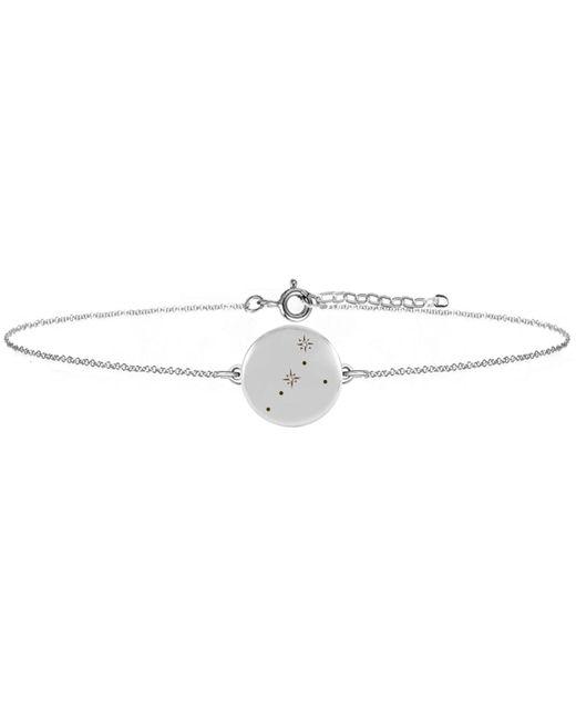No 13 - Multicolor Cancer Zodiac Constellation Bracelet Diamonds & Silver - Lyst