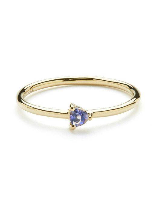 Aletheia & Phos | Metallic Cor Luna Ring Iolite | Lyst
