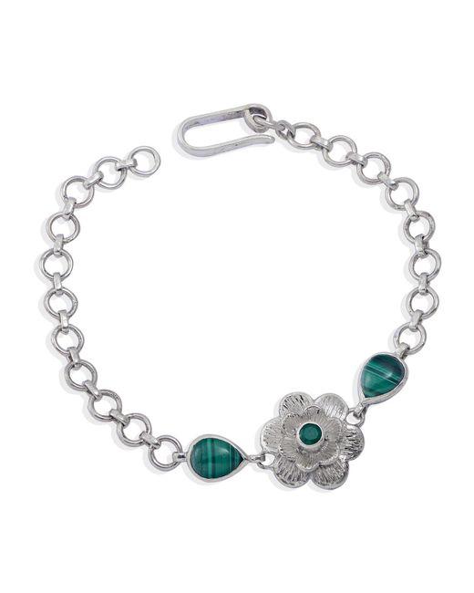 Emma Chapman Jewels | Green Gyspy Rose Malachite Bracelet | Lyst