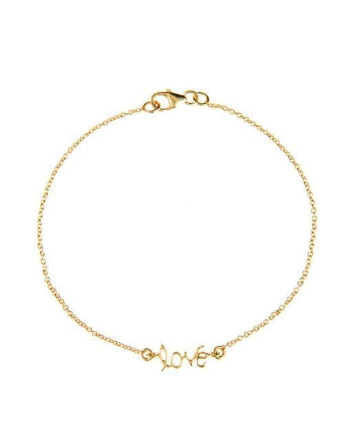Latelita London | Metallic Cosmic Love Bracelet Gold | Lyst