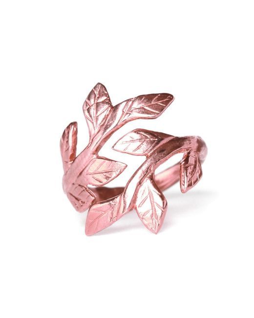 Chupi - Multicolor Wrap Your Laurels Around Me Ring In Rose Gold - Lyst