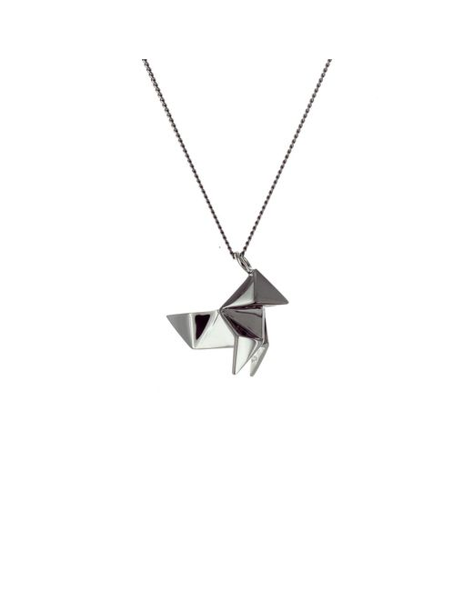 Origami Jewellery - Black Mini Cuckoo Gun Metal - Lyst