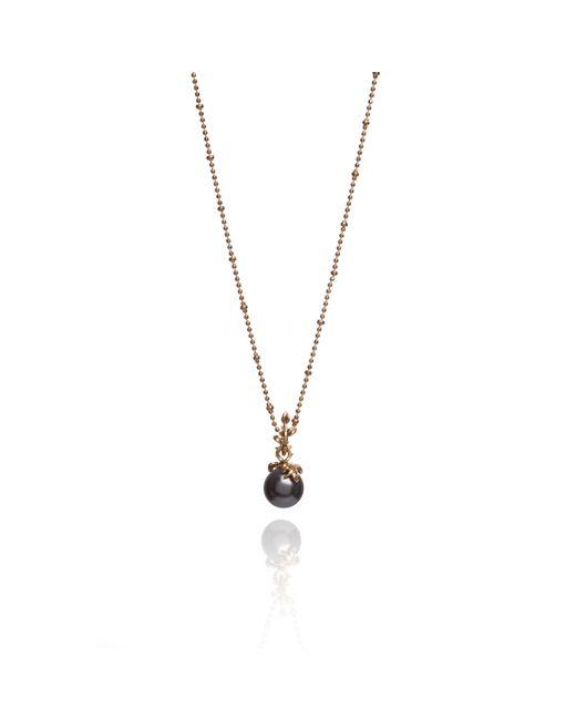 Kasun - Metallic Dark Pearl Pendant - Lyst