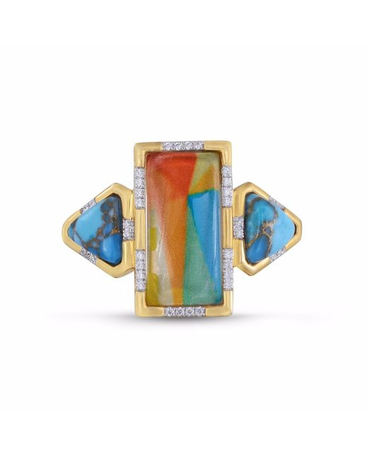 LMJ | Multicolor Wild & Free Ring | Lyst
