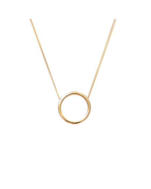 Lee Renee - Metallic Halo Necklace Gold - Lyst