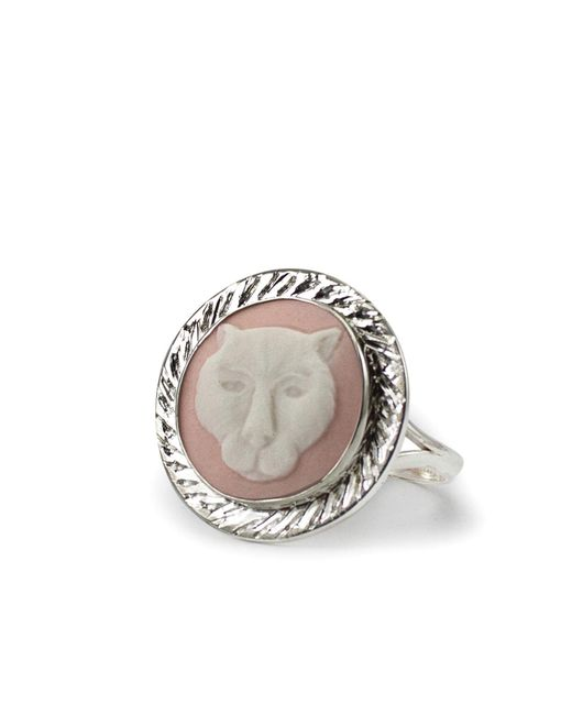 Vintouch Italy - Multicolor Panther Cameo Ring - Lyst