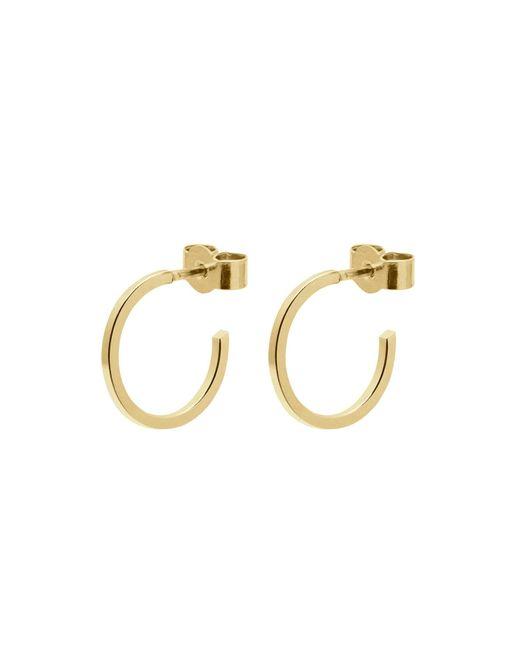 Myia Bonner - Metallic Gold Mini Hoop Earrings - Lyst
