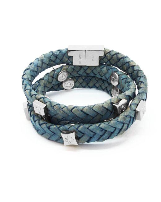 Tissuville - Blue Brio Bracelet Jargon Jade Silver - Lyst