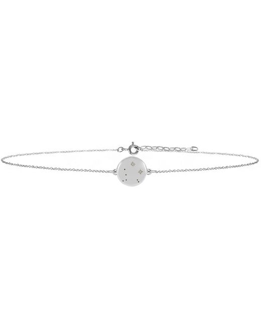 No 13 - Multicolor Libra Zodiac Constellation Choker Diamonds & Silver - Lyst