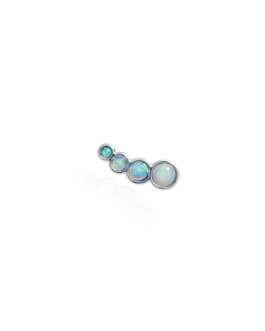 Lee Renee - Metallic Opal Slider Mono Earring Right Ear - Lyst
