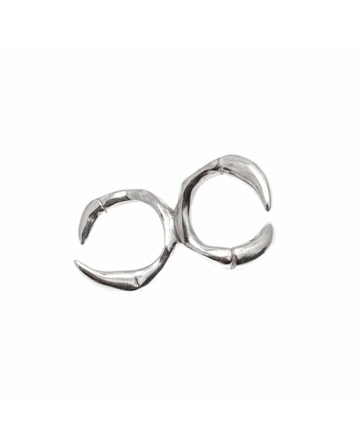 Kim Keohane | Metallic Sterling Silver Claw Knuckle Duster | Lyst