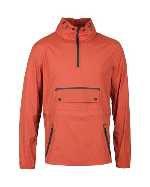 Belstaff - Tamarind Orange Overhead All-weather Vapour Cagoule for Men - Lyst
