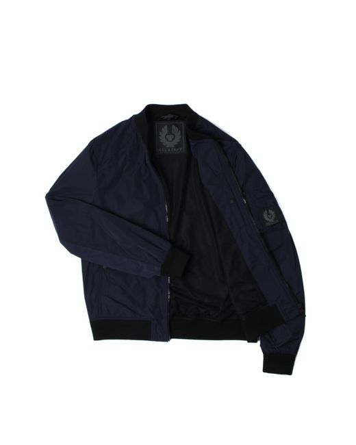 f54044e1c Belstaff Mallison Deep Navy Bomber Jacket in Blue for Men - Lyst