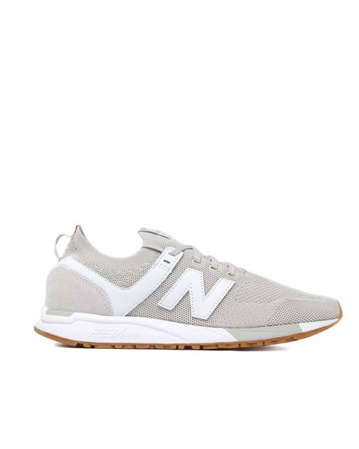 94a1acaf4caf4 ... New Balance - White 247 Stone Mesh Trainers for Men - Lyst ...