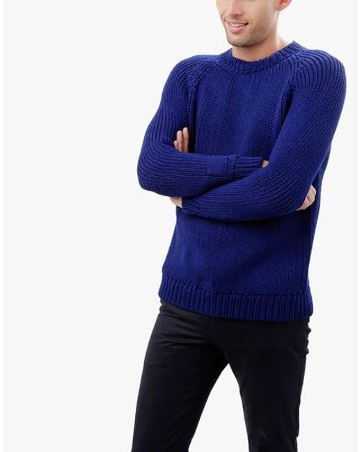 Wool And The Gang | Blue Stevie Sweater for Men | Lyst