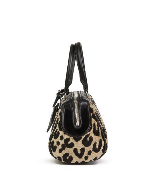 Louis Vuitton - Black Leopard Print Jacquard Velvet Stephen Sprouse Speedy 25 - Lyst
