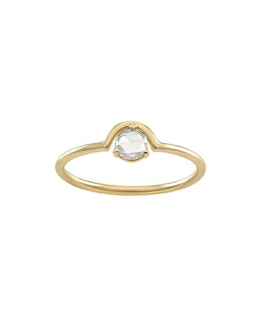 Wwake - Multicolor Single Nestled Diamond Ring - Lyst