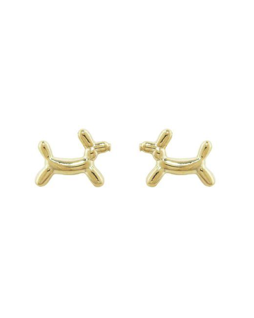 Sydney Evan - Multicolor Balloon Dog Stud Earrings - Lyst