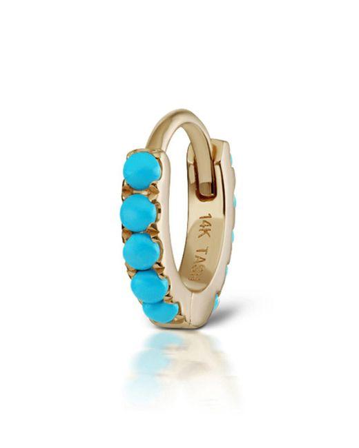 Maria Tash - Metallic 6.5mm Turquoise Eternity Ring Single Earring - Lyst