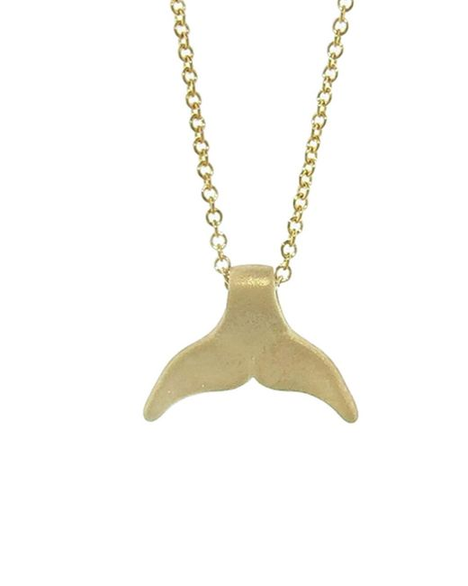 Tate | Multicolor Whale Tail Necklace | Lyst