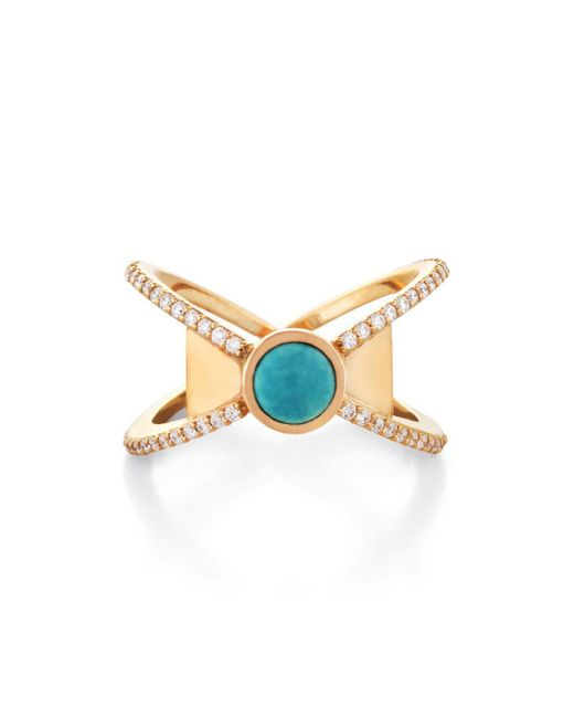 Larisa Laivins - Multicolor Dunne Ring - Lyst