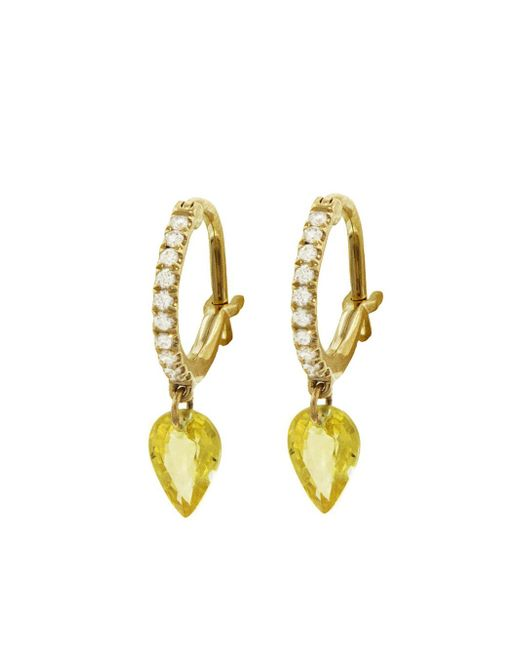 Raphaele Canot - Multicolor Set Free Yellow Sapphire Hoop Earrings - Lyst