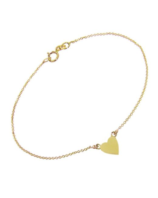 Jennifer Meyer - Metallic Heart Bracelet - Lyst