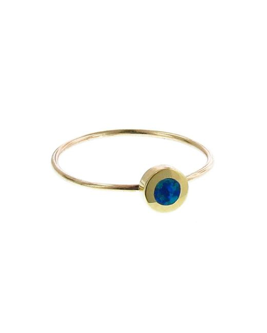 Jennifer Meyer - Multicolor Opal Inlay Circle Ring - Lyst