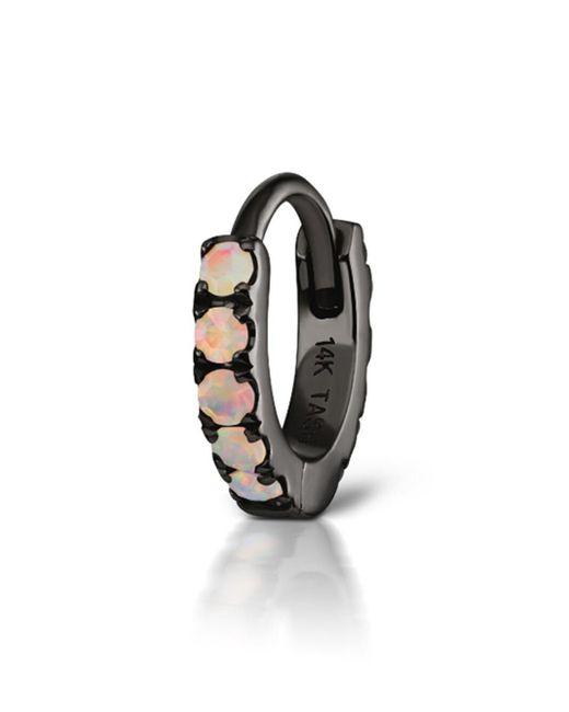 Maria Tash - Metallic Opal Eternity Ring Single Earring - Lyst