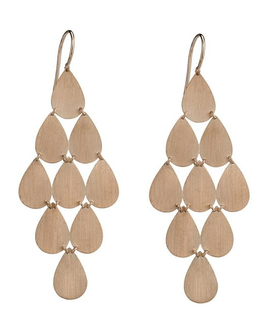 Irene Neuwirth - Metallic Signature Large Teardrop Chandelier Earrings - Lyst
