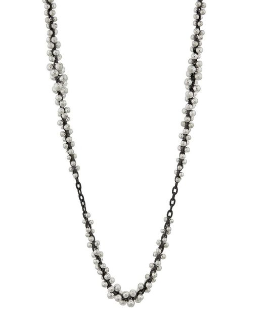 Ten Thousand Things - Metallic Silver Beaded Cluster Chain Necklace - Lyst